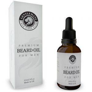 GFCC Vegan Friendly 30ml Beard Oil - Box and Bottle - Gentlemans Face Care Club