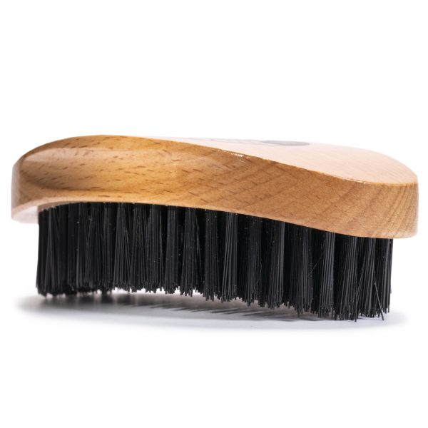 GFCC Vegan Friendly Beard Brush - Flat View - Gentlemans Face Care Club