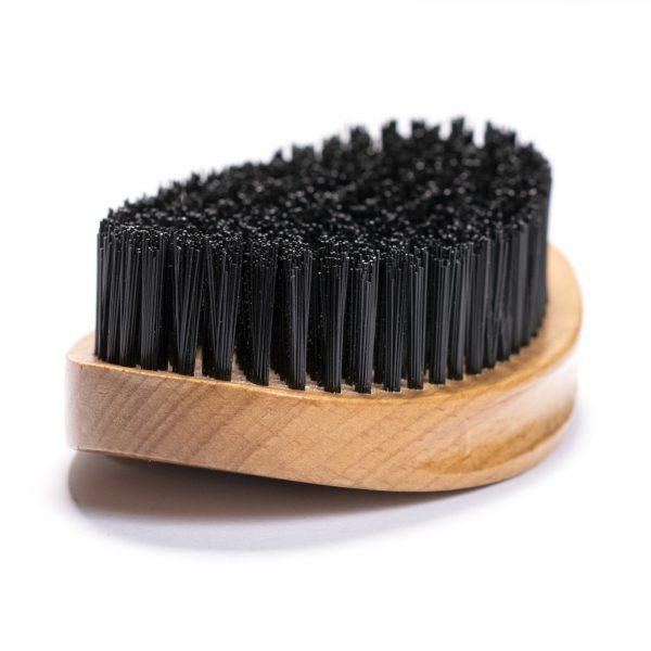 GFCC Vegan Friendly Beard Brush - Synthetic Bristles - Gentlemans Face Care Club