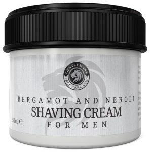 GFCC Bergamot And Neroli Shaving Cream - Gentlemans Face Care Club