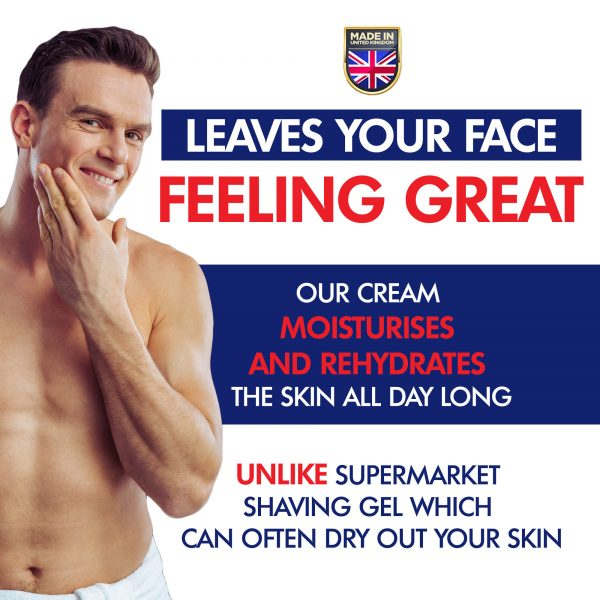 Bergamot and Neroli Shave Cream Doesn't Dry Skin