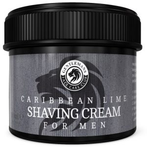GFCC Lime Shaving Cream - Gentlemans Face Care Club Front View
