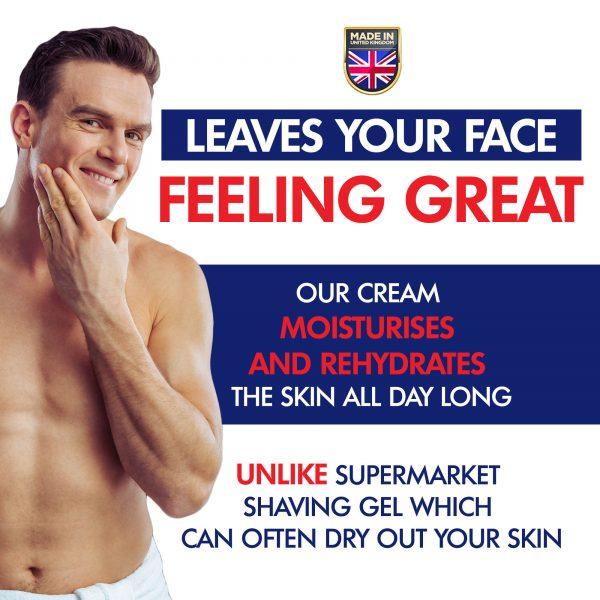 GFCC Peppermint Shave Gel - Gentlemans Face Care Club