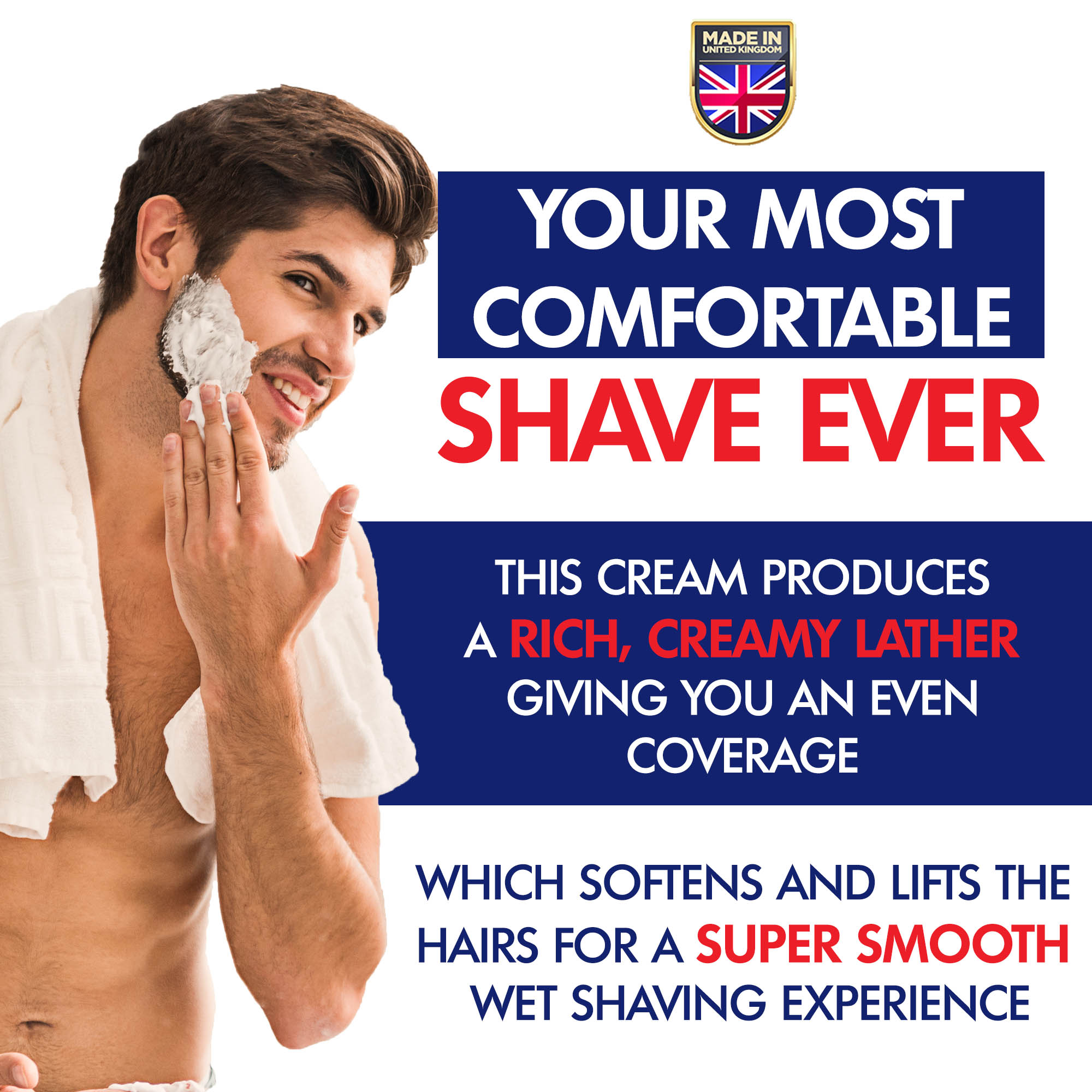 shaving every day is good for you if you use good products