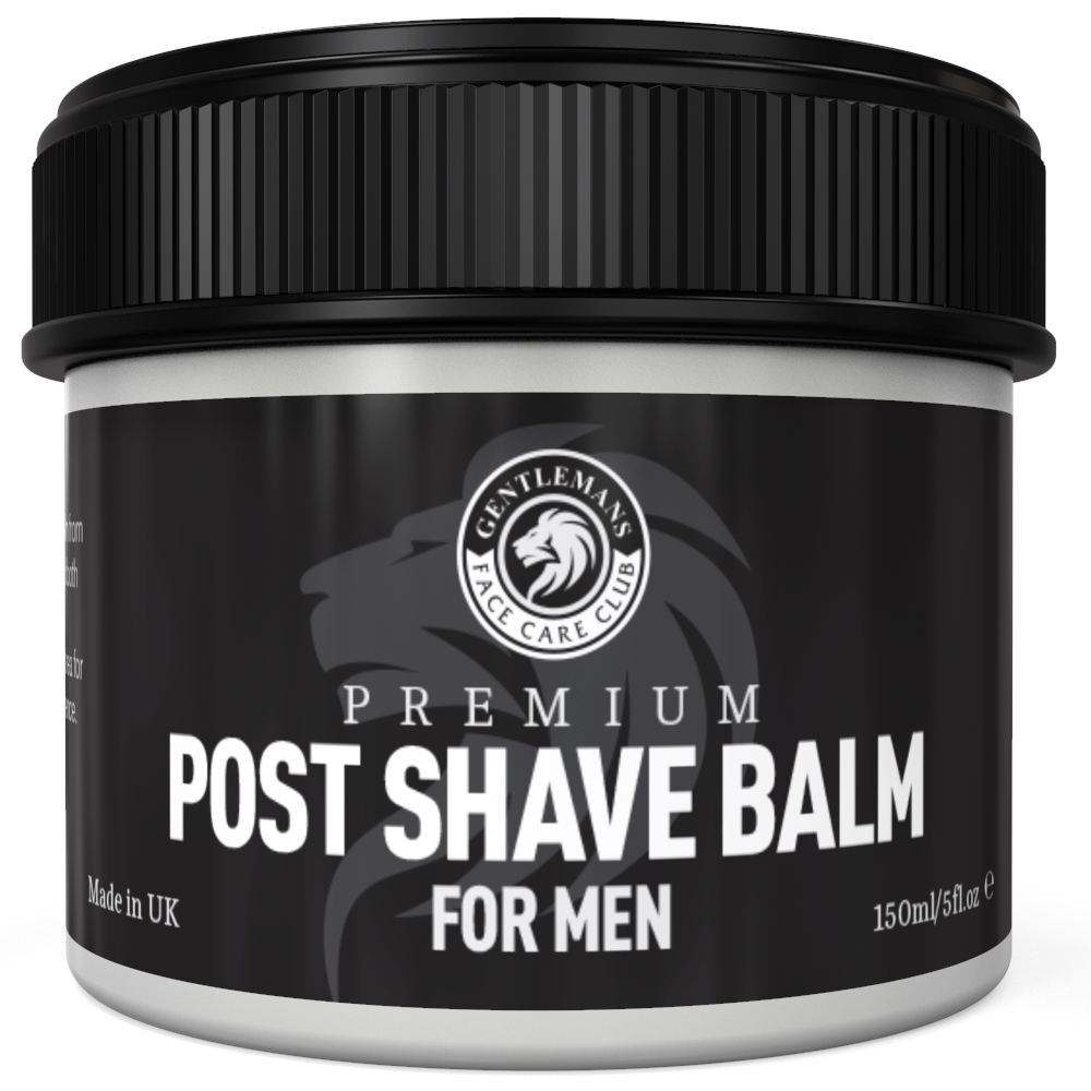 traditional shaving products - after shave balm