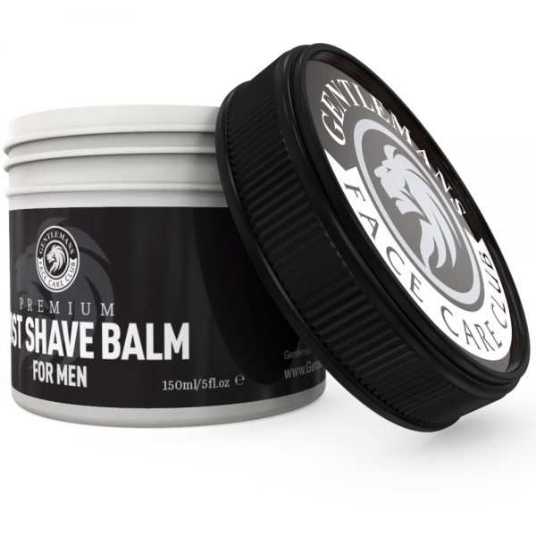 GFCC After Shave Balm - Lid And Pot - Gentlemans Face Care Club