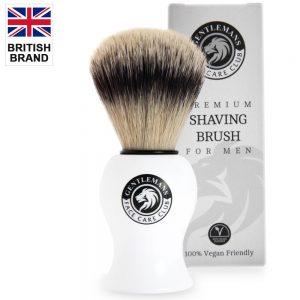 Vegan Friendly Shaving Brush - Gentlemans Face Care Club