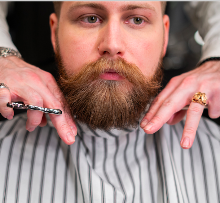 where to shave when growing a beard - image 1