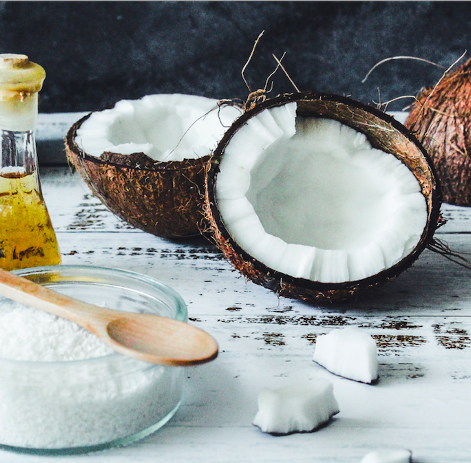 Coconut oil is perfect for making your own shaving cream