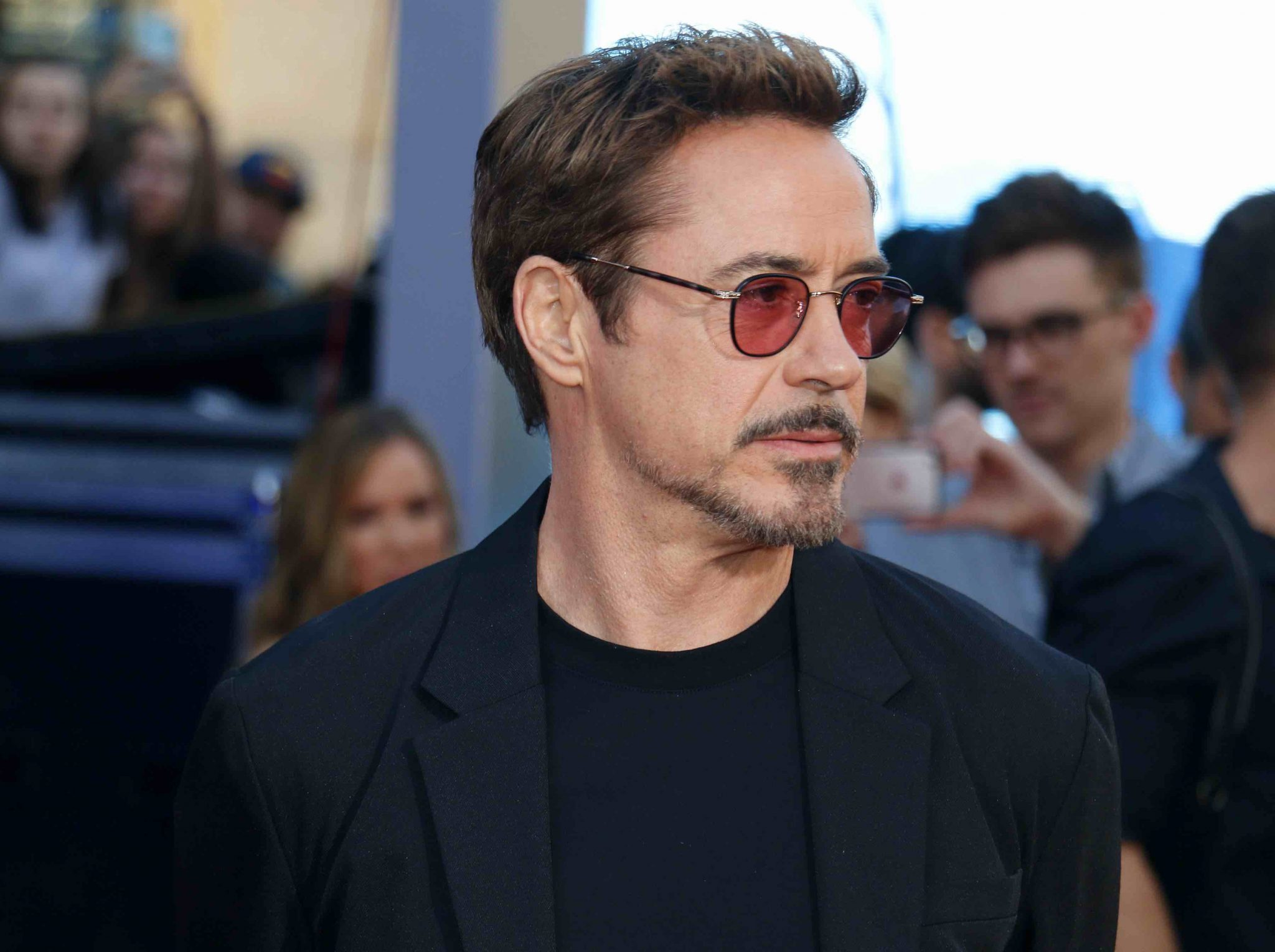 Robert Downey Jr is well known for his famous celebrity beards